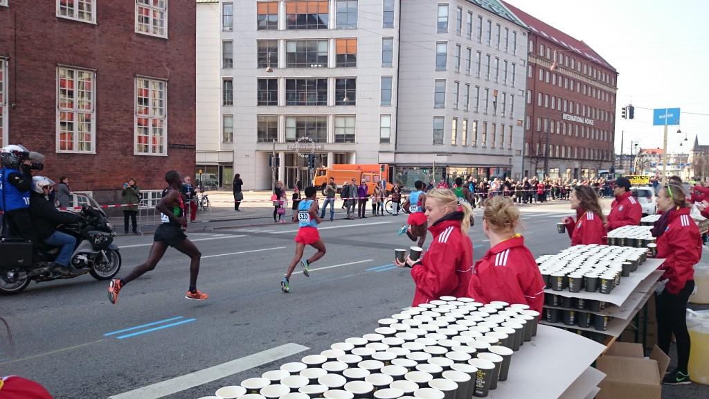 Kenyanerne var hurtige, men det var de frivillige fra Heimdal også!
